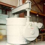 Ladle with gearbox