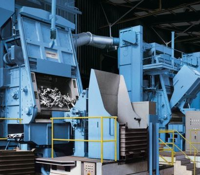 MB batch tumble blast machines photo